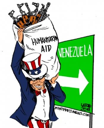 Aide humanitaire Venezuela
