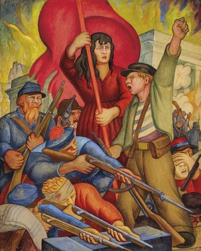 Communards - Diego Rivera (1928)