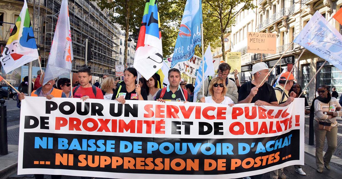 9eacb9b4102 La casse des services publics et du statut des fonctionnaires ...