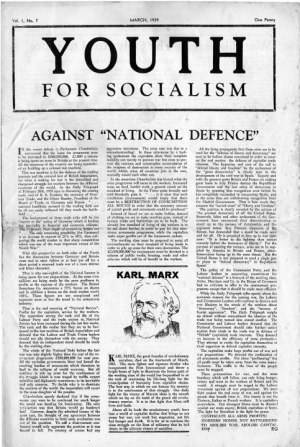 Youth for socialism
