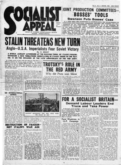 Socialist Appeal 1942