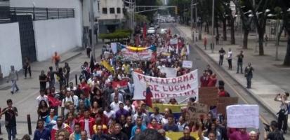 Marche Paysans Caracas