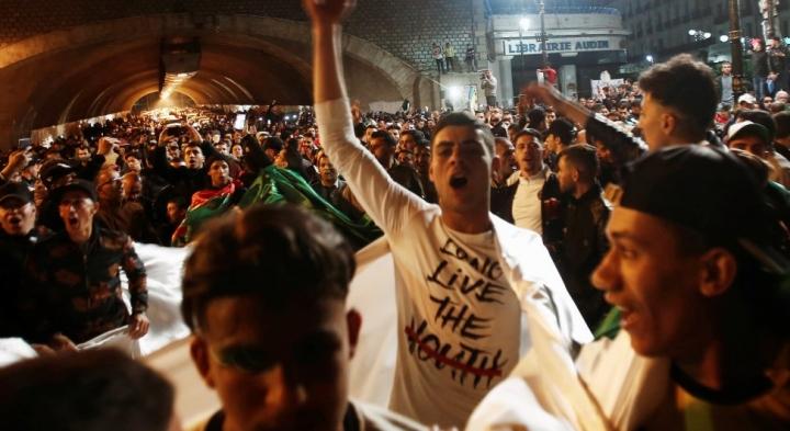 Algerie jubilation