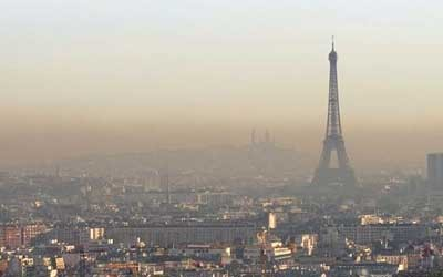 COP21 Pollution Paris
