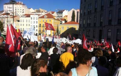 Manifestation Portugal