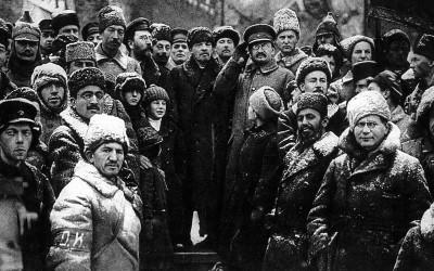 Article de Révolution-Tendance Marxiste Internationale sur la Révolution d'Octobre Revolution-Octobre-1917