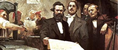 marx et l'international