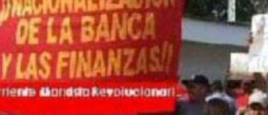 Nationalization de la banca